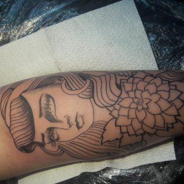 Tatouage visage